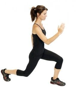 knee exercise lunge