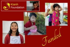 Children funded in May